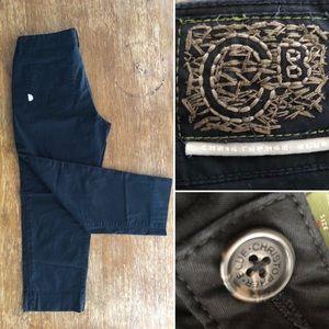 Christopher Blue Black pants sz. 8 (C2)
